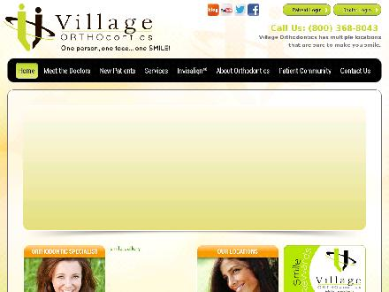 Village Orthodontics (905-371-8887) - Onglet de site Web - http://www.villageortho.ca