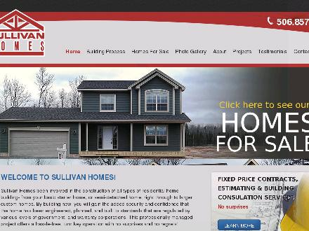 Sullivan Homes (506-857-8183) - Website thumbnail - http://www.djsullivanhomes.com
