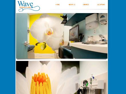Wave Medical Clinic (604-558-4044) - Website thumbnail - http://www.wavemedicalclinic.com