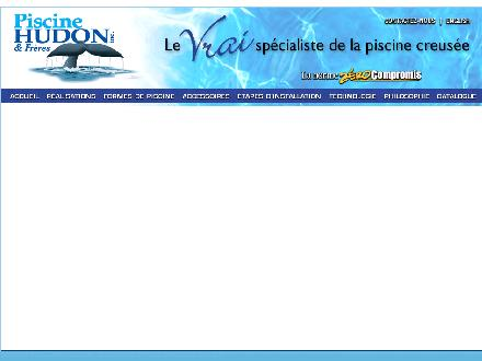 Piscines Hudon Inc (450-963-1233) - Onglet de site Web - http://www.piscinehudon.com