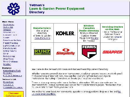 Yetman's Ltd (204-515-1139) - Website thumbnail - http://www.yetmans.com