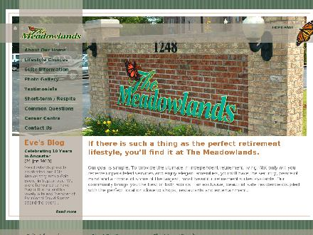 Meadowlands Retirement (905-304-1968) - Website thumbnail - http://www.meadowlandsretirement.com