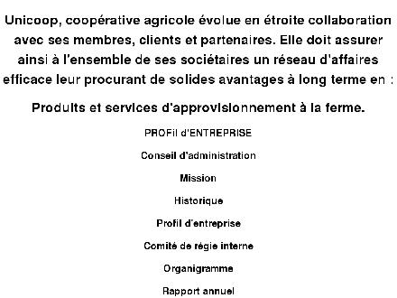 Unicoop coopérative agricole (418-328-3788) - Website thumbnail - http://www.unicoop.qc.ca