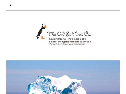 The Old Salt Box Co (709-658-7392) - Website thumbnail - http://www.theoldsaltboxco.com
