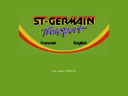 St-Germain Express Inc (819-395-4295) - Onglet de site Web - http://www.st-germaintransport.com