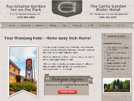 Assiniboine Gordon Inn On The Park (204-808-8913) - Website thumbnail - http://www.gordonhotels.com