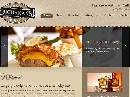Buchanan Restaurant Ltd (403-798-9701) - Website thumbnail - http://www.buchanans.ca
