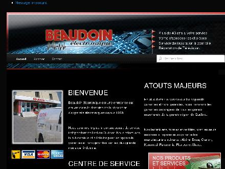 Beaudoin Electronique (418-653-8951) - Website thumbnail - http://www.beaudoinelectronique.ca
