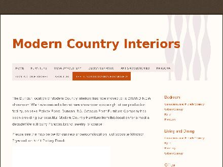 Modern Country Interiors (403-264-2601) - Website thumbnail - http://www.moderncountryinteriors.com
