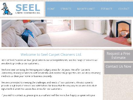 Seel Carpet Cleaners Ltd (204-784-7335) - Website thumbnail - http://www.seelcarpetcleaners.com