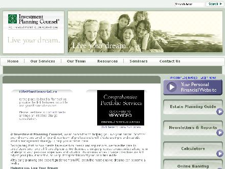 Caton Glen Certified Financial Planner (403-347-1137) - Website thumbnail - http://www.lifeplanfinancial.ca