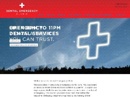 Dental Emergency Services (416-485-7121) - Onglet de site Web - http://dentalemergencyservices.ca