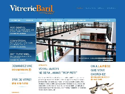 Vitrerie Baril (819-803-1420) - Website thumbnail - http://www.vitreriebaril.com