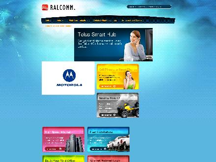 Ralcomm Ltd (780-352-4077) - Website thumbnail - http://www.ralcomm.com
