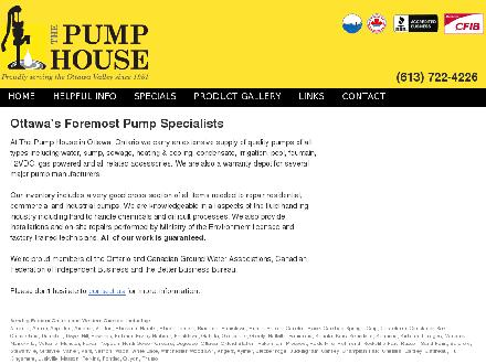 Mannion's Pump House Ltd (613-604-0813) - Onglet de site Web - http://www.ovph.ca