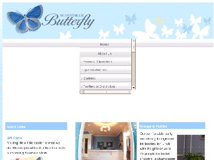 Silvery Blue Butterfly Salon Spa & Boutique Inc (905-829-2201) - Website thumbnail - http://www.silverybluebutterfly.com
