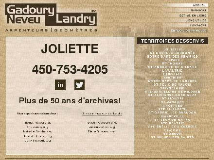 Gadoury Neveu Landry Inc (450-753-4205) - Onglet de site Web - http://www.gnl-ag.com