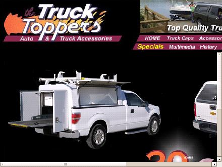 Truck Toppers The (1-888-393-1032) - Website thumbnail - http://www.thetrucktoppers.com
