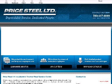 Price Steel Ltd (780-613-0216) - Website thumbnail - http://www.pricesteel.com