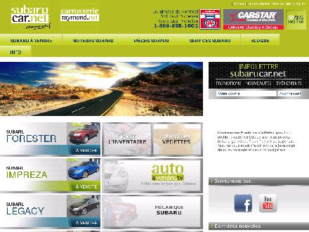 Subarucar.net (450-648-0419) - Onglet de site Web - http://www.subarucar.net