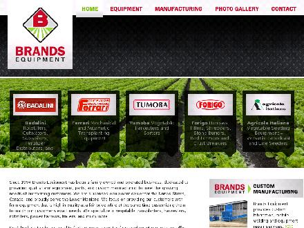 Brand's Equipment (604-823-4675) - Website thumbnail - http://www.brandsequipment.com