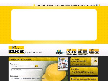 Lou-Tec (1-866-456-8832) - Onglet de site Web - http://www.loutec.com