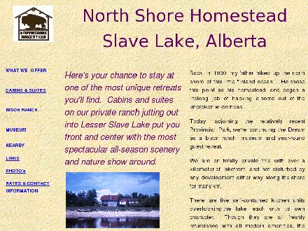 Northshore Homestead (780-805-0351) - Onglet de site Web - http://www.northshorehomestead.com