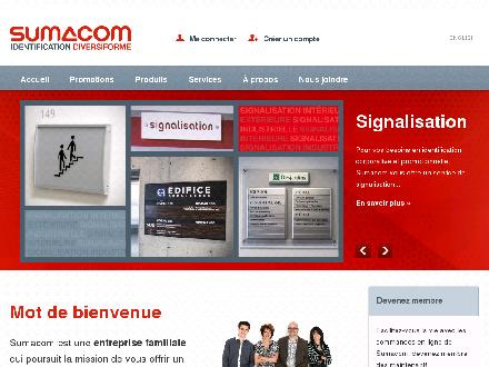 Sumacom Multi-Troph&eacute;es Sumacom Multi-Troph&eacute;e (418-833-6672) - Onglet de site Web - http://www.sumacom.ca