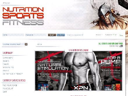 Nutrition Sports Fitness (418-780-1486) - Onglet de site Web - http://www.nutritionsport.com