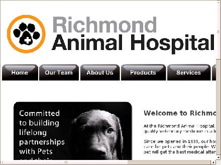 Richmond Animal Hospital Ltd (604-238-0676) - Website thumbnail - http://richmondanimalhospital.ca