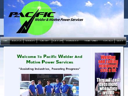 Pacific Welder & Motive Power Services Ltd (780-455-5559) - Onglet de site Web - http://www.pacificwelder.com