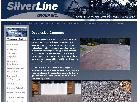 Silverline Group Inc (905-680-6002) - Onglet de site Web - http://www.silverlinegroupinc.com/cs_decorative.html