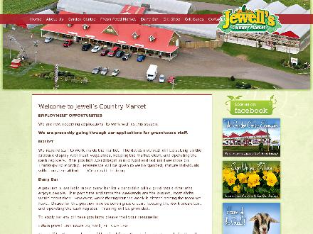 Jewell's Country Market (902-629-1900) - Onglet de site Web - http://www.jewellscountrymarket.com