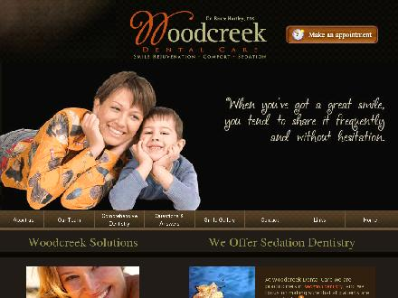 Hartley Bruce Dr (403-238-2872) - Website thumbnail - http://www.woodcreekdentalcare.com