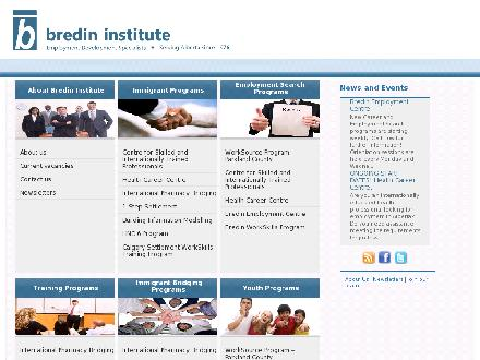Bredin Institute-Centre For Learning (780-425-3730) - Website thumbnail - http://www.bredin.ca