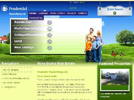 Prudential Woods Realty Ltd (902-893-1990) - Website thumbnail - http://www.pruwoodsrealty.ns.ca