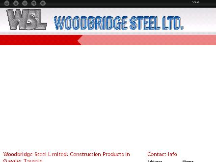 Woodbridge Steel Ltd (647-931-9649) - Onglet de site Web - http://woodbridgesteel.ca/
