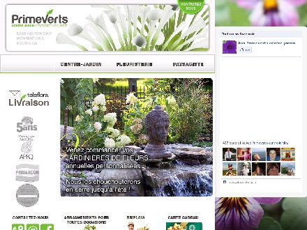 Aux Primeverts Centre Jardin Inc (418-337-7797) - Website thumbnail - http://www.primeverts.com