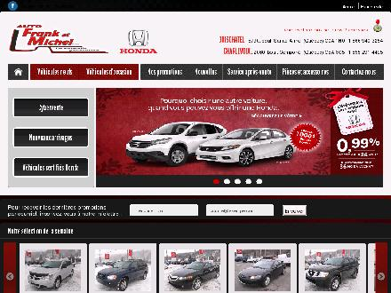 Auto Frank &amp; Michel Inc (418-822-2252) - Onglet de site Web - http://www.autofranketmichel.com