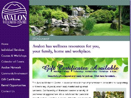 Avalon Wellness Centre - Marie-Anne Chabot (705-728-6021) - Website thumbnail - http://www.avalonwellnesscentre.com