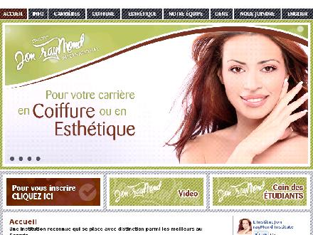 L'Institut Jon Raymond (506-857-9840) - Onglet de site Web - http://www.jonraymond.com