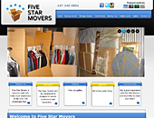 Five Star Movers (647-348-0886) - Website thumbnail - http://www.fivestarmovers.ca