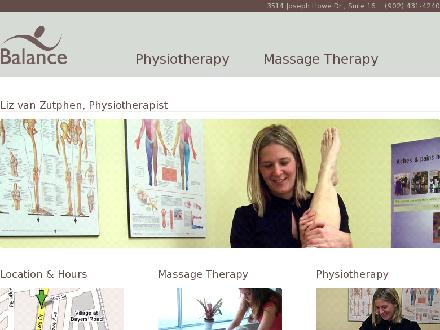 Balance Physiotherapy (902-431-4240) - Website thumbnail - http://www.findyourbalance.ca