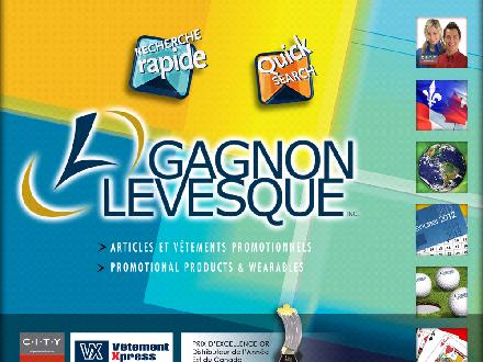 Gagnon Lévesque Inc (450-682-5500) - Website thumbnail - http://www.promogl.com