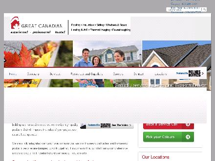 Great Canadian (403-798-0953) - Onglet de site Web - http://www.greatcanadian.ca