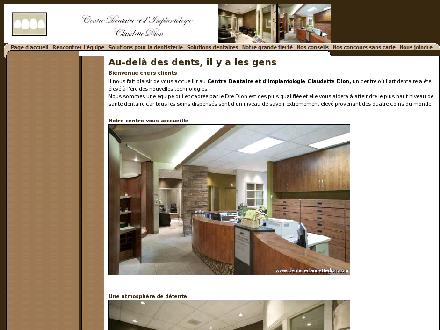 Centre Dentaire Claudette Dion (418-661-1141) - Website thumbnail - http://www.dentisteclaudettedion.com