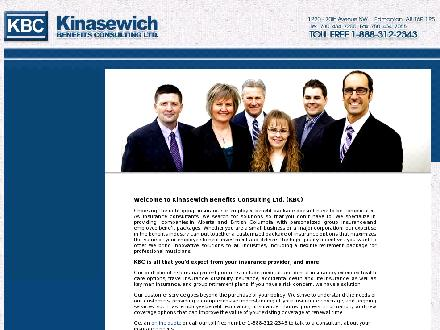 Kinasewich Benefits Consulting Ltd (780-434-7200) - Website thumbnail - http://www.getbenefits.ca