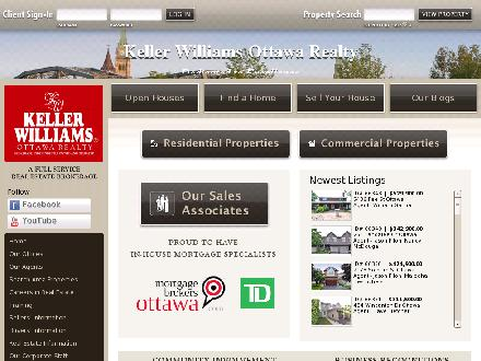 Keller Williams Realty Ottawa Realty (613-236-5959) - Website thumbnail - http://www.kwottawa.ca