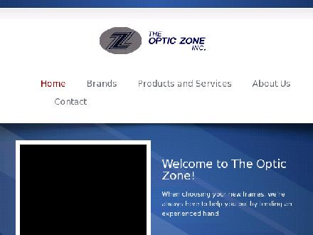 The Optic Zone Inc (416-362-3937) - Website thumbnail - http://www.opticzone.ca/