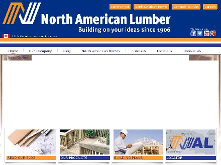 North American Lumber Limited (204-942-8121) - Onglet de site Web - http://www.northamericanlumber.ca